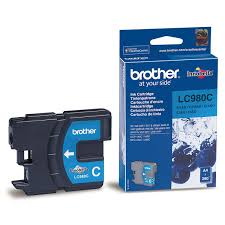 Brother LC980C - Cartouche d'impression - 1 x cyan - 260 pages