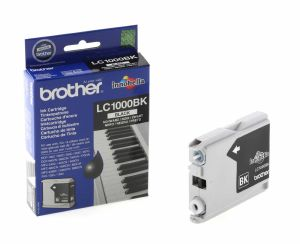 Brother LC1000BK - Cartouche d'impression - 1 x noir - 500 pages - Pack de 2